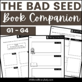 The Bad Seed by Jory John Graphic Organizer Companion Pack