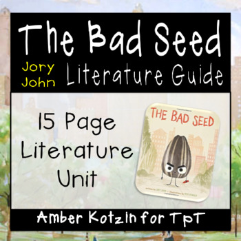 The Bad Seed Literature Guide (Common Core Aligned)