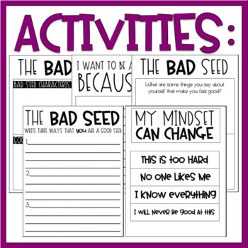 The Bad Seed / Read-Aloud