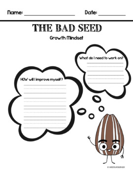 The Bad Seed - Reading & Writing Activities