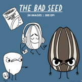 The Bad Seed Story Clipart