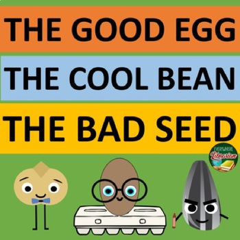The Bad Seed The Good Egg The Cool Bean JORY JOHN 80 Activities 3 Book BUNDLE