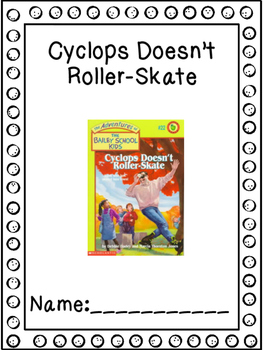 The Bailey School Kids #22 Cyclops Doesn't Roller Skate