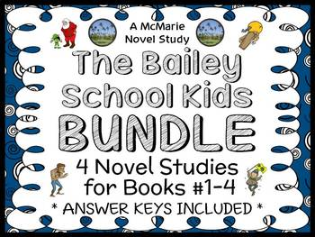 The Bailey School Kids BUNDLE (Debbie Dadey) 4 Novel Studi