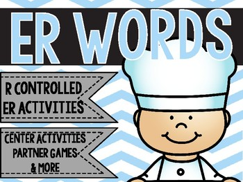 ER Words - A Word Study Pack