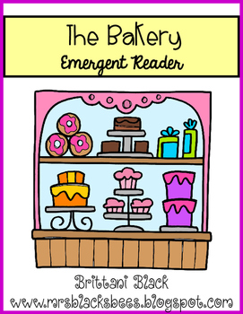 The Bakery~ emergent reader