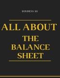 The Balance Sheet (Business/ Accounting)