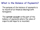The Balance of Payments & the Current Account - Economics - PPT & Tasks