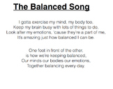 Balanced Song (Instrumental)