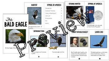 The Bald Eagle: Integrated ELA and Social Studies Pack