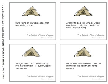 The Ballad of Lucy Whipple: CCSS-Aligned Novel Work