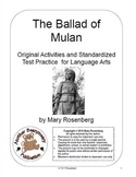The Ballad of Mulan Original Activities and Standardized Test Practice