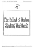 The Ballad of Mulan Student Workbook