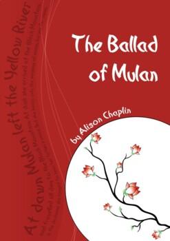 The Ballad of Mulan drama play script, Chinese traditional story, mini script