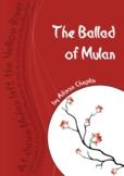 The Ballad of Mulan drama play script, Chinese traditional