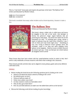 The Balloon Tree - Written and Illustrated by Phoebe Gilman