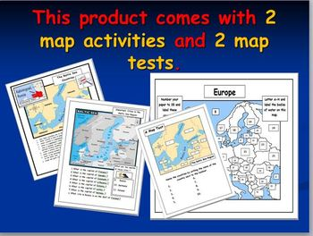 The Baltic Sea Region Map Activities with Additional Materials