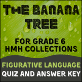 The Banana Tree Figurative Language Quiz and Key