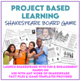 The Bard Game - A PBL Project for ANY Shakespeare play GROWING BUNDLE