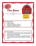 The Barn by Avi; Literature Unit  (Version 1 for Younger Readers 3rd/4th Gd)