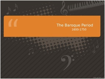 The Baroque Period, Handel, & Bach Powerpoint