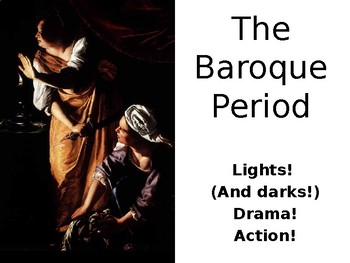The Baroque Period PowerPoint