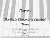 The Basic Elements of Classical Music