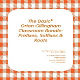 The Basic² Orton Gillingham Bundle:  Prefixes and Suffixes