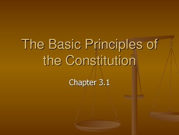 The Basic Principles of the Constitution