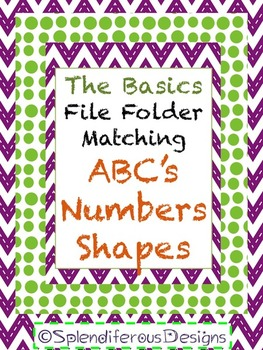 The Basics File Folder Matching