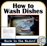 The Basics- How to Wash Dishes!