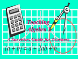 The Basics of Algebra 1: A Survival Guide for Teachers