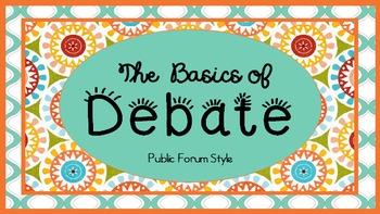 The Basics of Debate