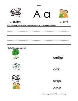 The Basics of French: A worksheet