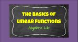 The Basics of Linear Functions - Algebra Lib