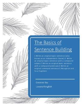 The Basics of Sentence Building -- Sample
