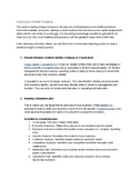 The Basics of Starting a Small Business (Teaching Instruction Sheet)