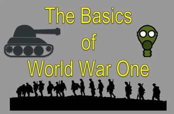The Basics of WWI