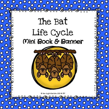 The Bat Life Cycle Mini Book & Banner