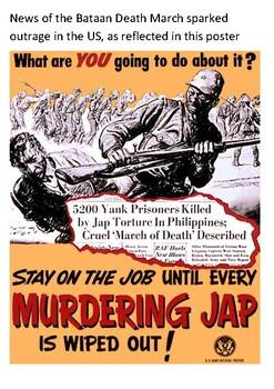 The Bataan Death March, 1942 Handout