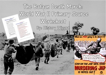 The Bataan Death March World War Ii Primary Source
