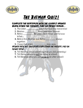 The Batman Quiz