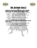 The Batman Quiz