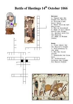 The Battle Hastings Crossword