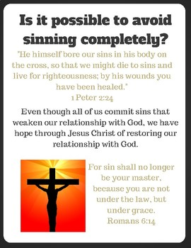 The Battle against Sin