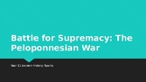 The Battle for Supremacy: Introducing the Peloponnesian War