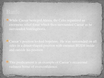 The Battle of Alesia (52 B.C.):  The Military Genius of Julius Caesar