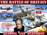The Battle of Britain (Reading & Questions)