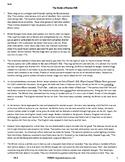 The Battle of Bunker Hill - Grade 6