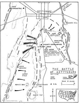 The Battle of Gettysburg Map Kit